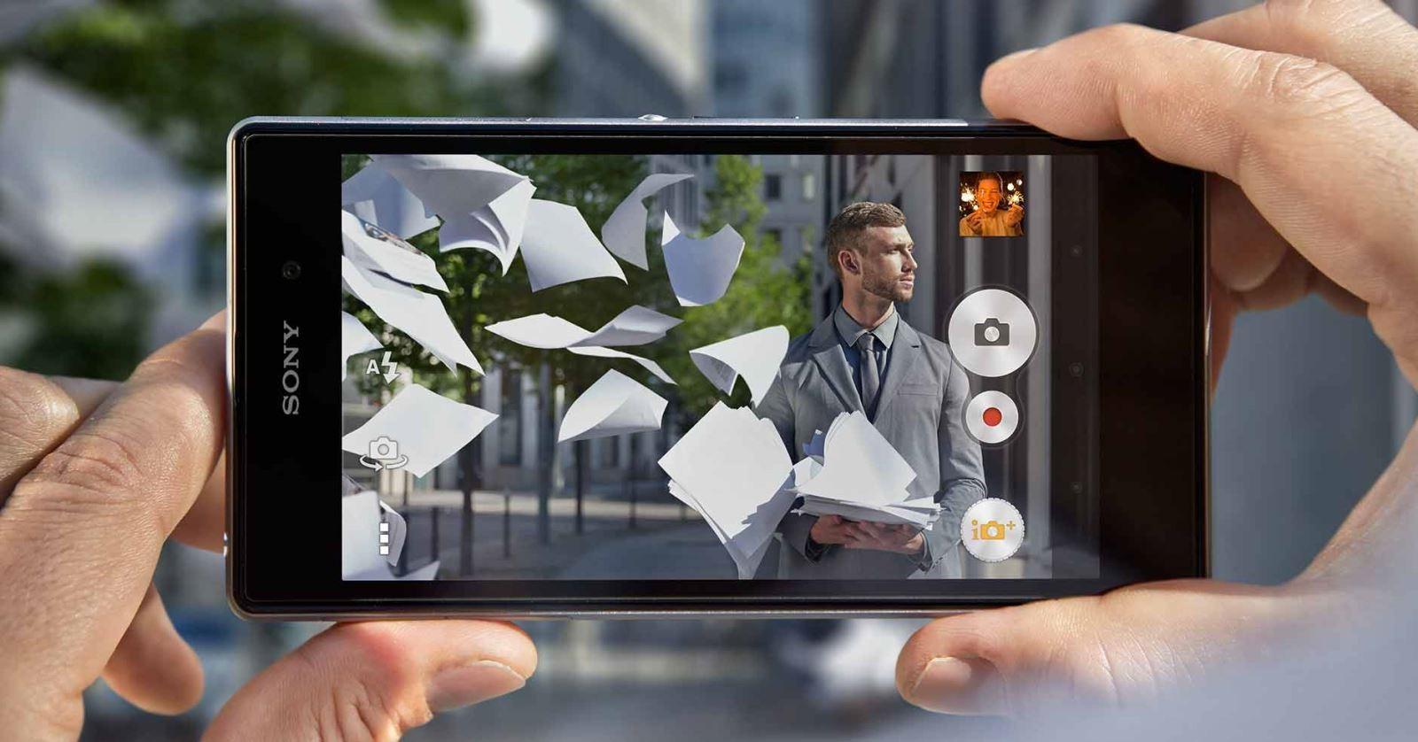 Sony представила сенсор камеры со встроенной памятью для смартфонов