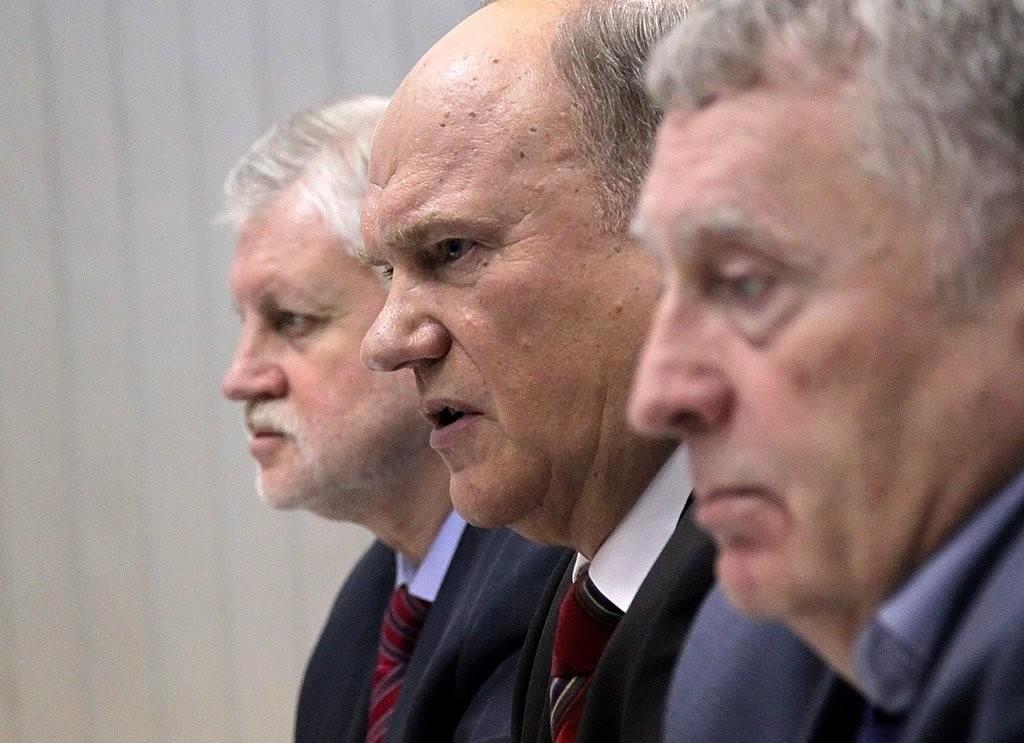 Навыборах президента Кремль поддержит лидеров думских партий