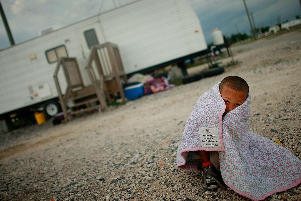 Ученые: практически 50% американских детей живут внищете