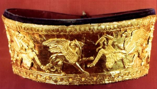 ВГреции археологи обнаружили захоронение воина