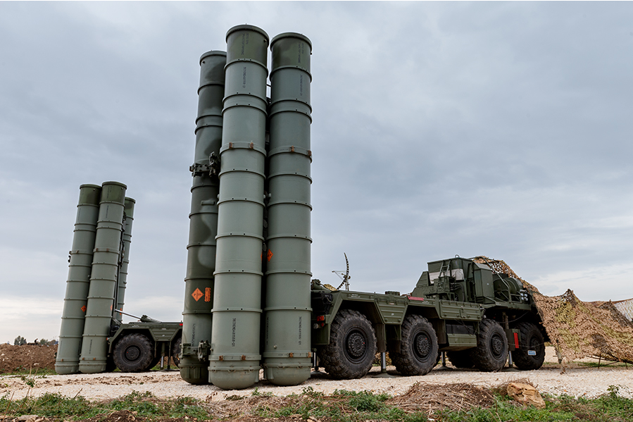 Российская Федерация начала производство С-400 для Китая