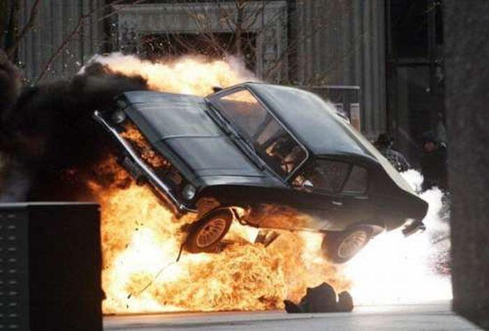 Назападе Багдада взорван заминированный автомобиль, необошлось без жертв