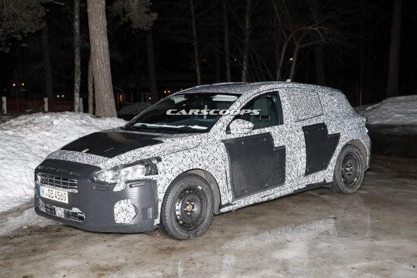 Винтернете впервый раз размещены фотографии орестайлингового Форд Focus всерийном кузове