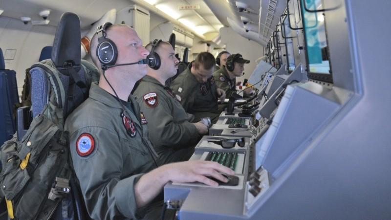 Американский самолет-радиоперехватчик пролетел около Ленинградской области