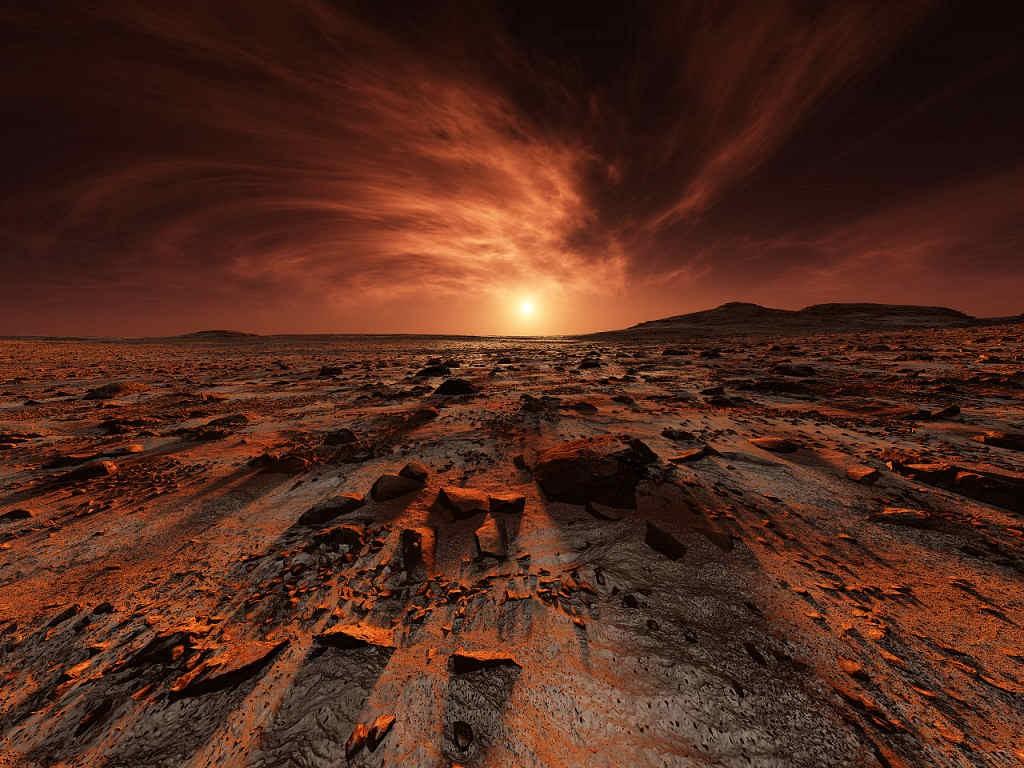 Ученые доказали существование воды наМарсе