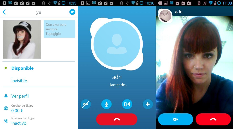 Новый Skype для андроид
