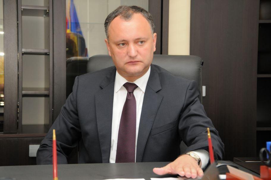 Игорь Додон закроет кабинет НАТО вМолдавии