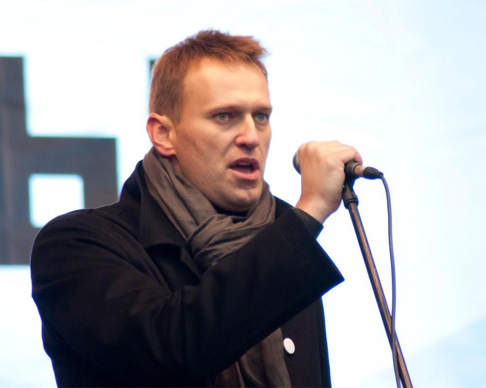 Навальный открыл вНовосибирске штаб поподготовке квыборам президента
