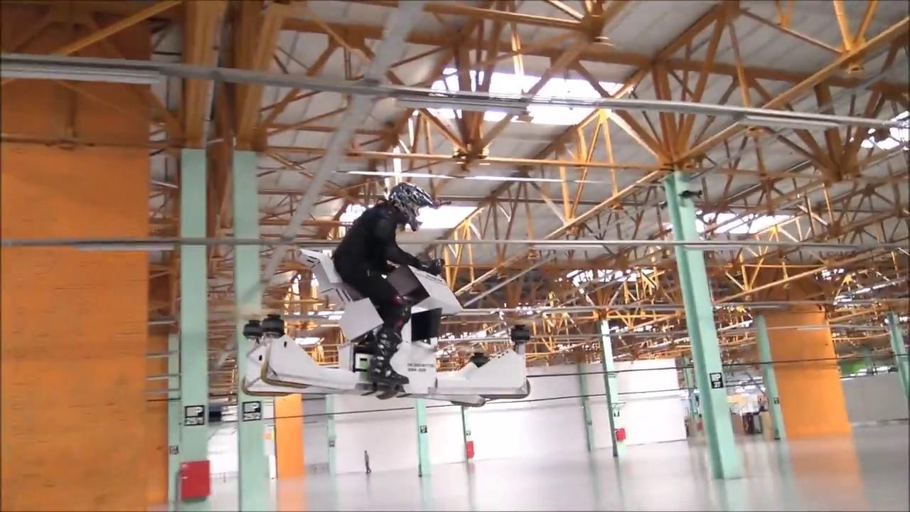 В Российской Федерации испытали 1-ый вмире летающий байк