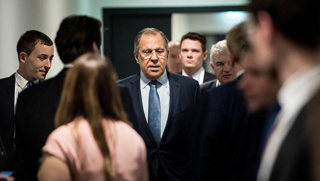 Лавров проверил кабинет напредмет «прослушки» входе встречи с генеральным секретарем МАГАТЭ