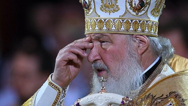 Патриарх Кирилл сравнил ситуацию вДонбассе иреволюцию 1917 года