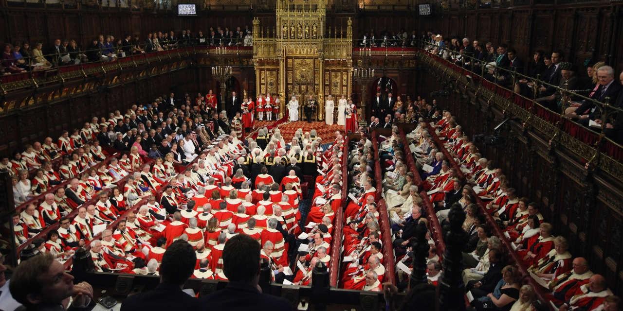 Палата лордов вАнглии начинает обговаривать законодательный проект оBrexit