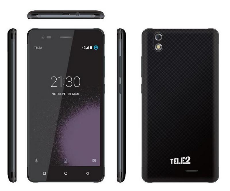 Альтернативный оператор связи Tele2 представляет новый 4G-смартфон