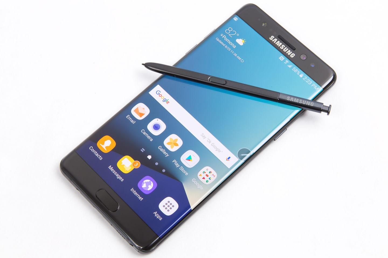 Восстановленные Samsung Galaxy Note 7s отправятся на развивающиеся рынки