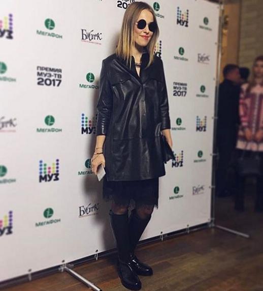 Ксения Собчак остается ведущей премии Муз-ТВ