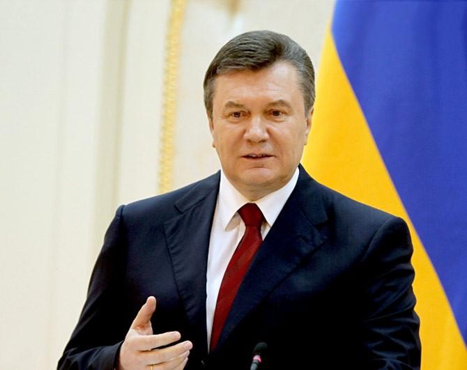 Янепросил вводить войска вгосударство Украину — Янукович