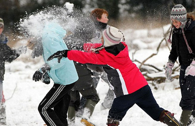 НаУрале школьник ранил девочку, попавшую ему снежком влицо