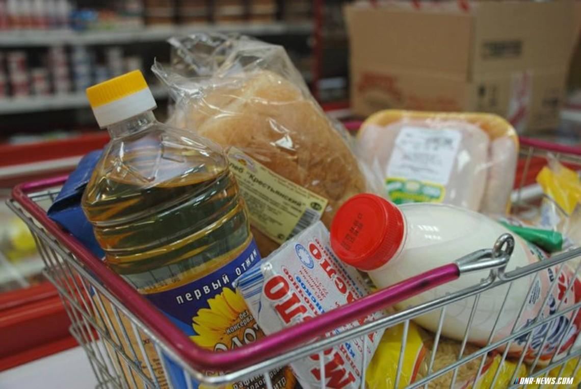 Минимальный набор продуктов питания подорожал в РФ