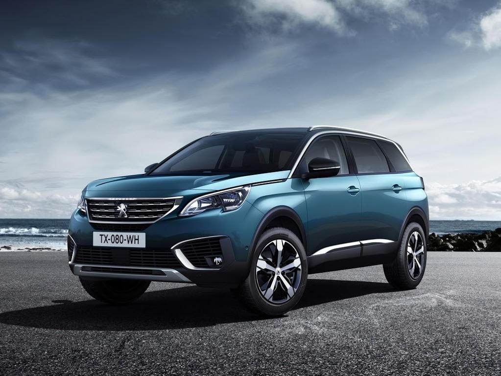 Peugeot (Пежо) презентовал серийную версию кроссовера 5008