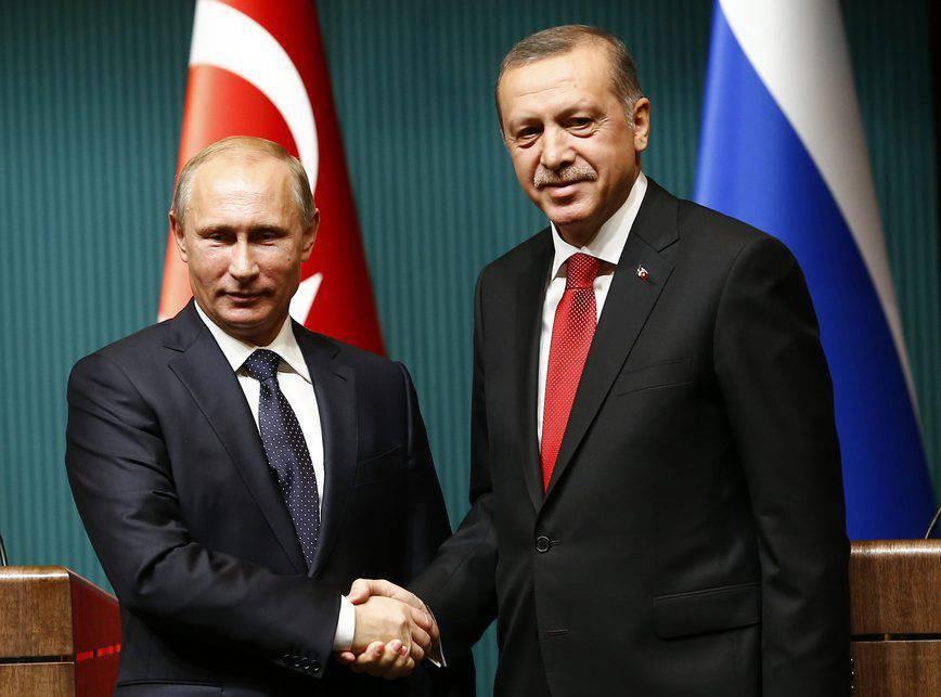 Эрдоган посетит софициальным визитом Российскую Федерацию 9