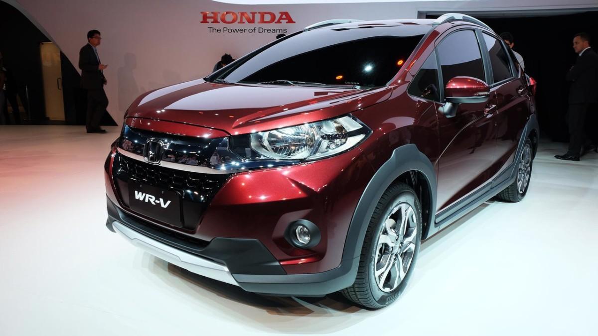Honda опубликовала данные о новинке WR-V
