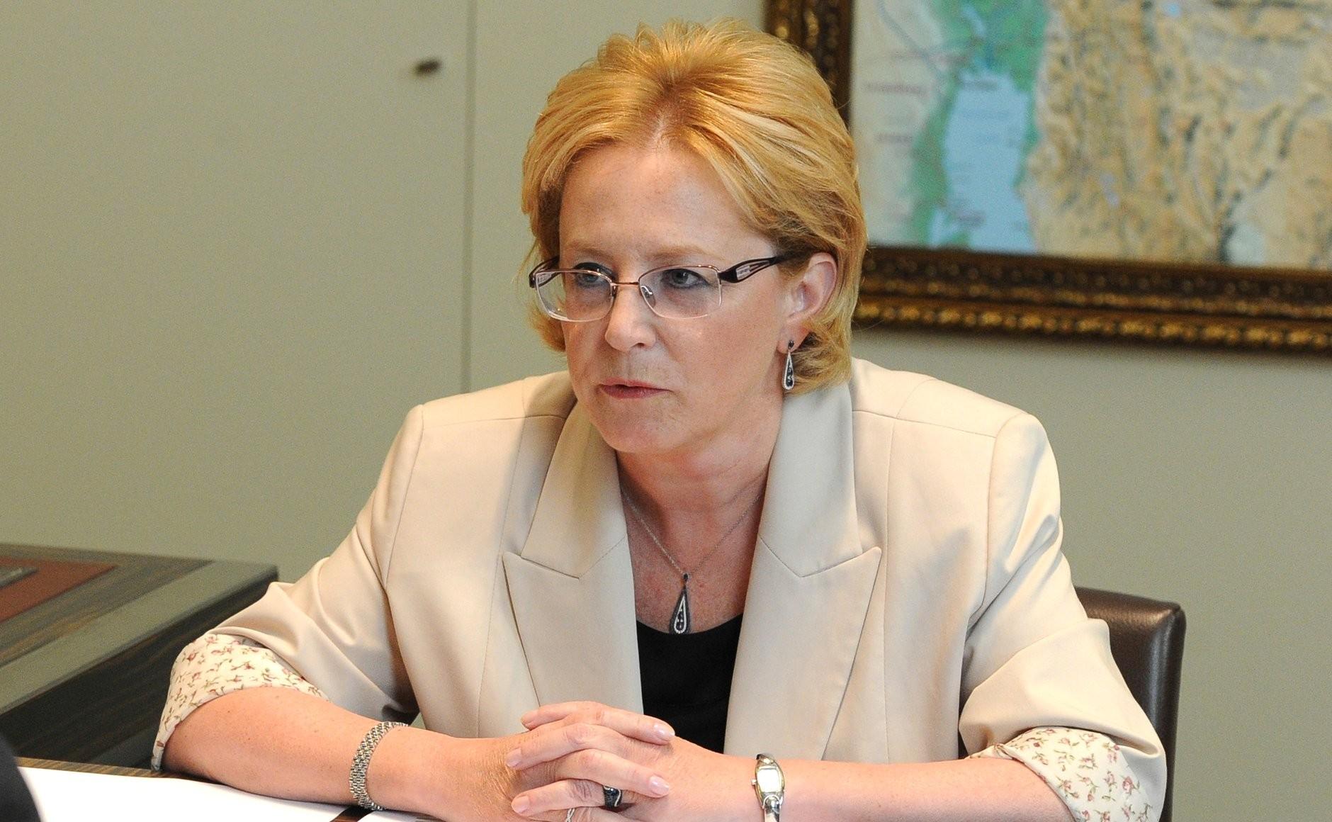 Министр здравоохранения РФ Вероника Скворцова стала лауреатом премии «Щит ироза— 2017»
