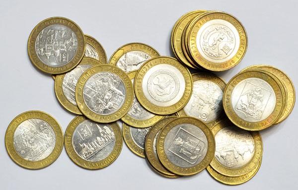 ЦБперестал заказывать чеканку монет менее рубля