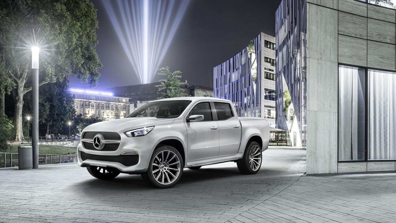Наамериканском рынке появятся пикапы Mercedes X-Class