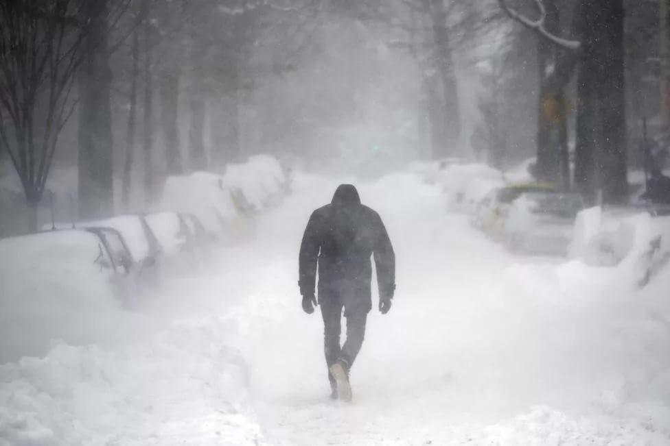 Вснегопады возрастает смертность среди мужчин— ученые