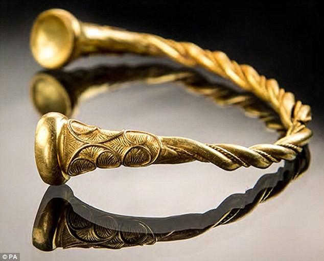 ВБритании найдены кельтские украшения возрастом 2,5 тысячи лет