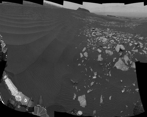 NASA показало, как двигаются песчаные дюны наМарсе— Уникальные кадры