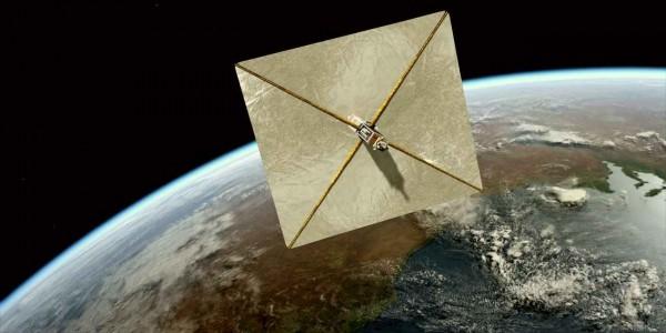 Ученые: Лазерный парус можно использовать для торможения космического корабля