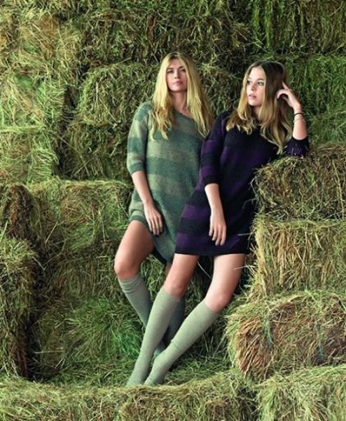 Вера Брежнева оказала поддержку дочери, принявшей участие в модном показе