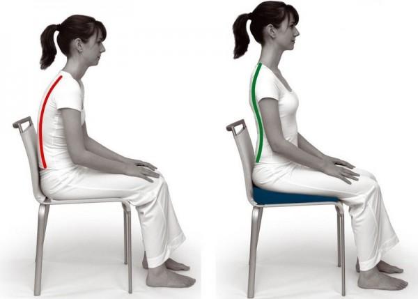 Психологи: Стресс лучше переносится при прямой спине