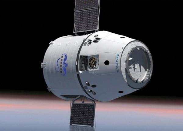 Компания Space X запустит грузовой космический корабль Dragon 18 февраля