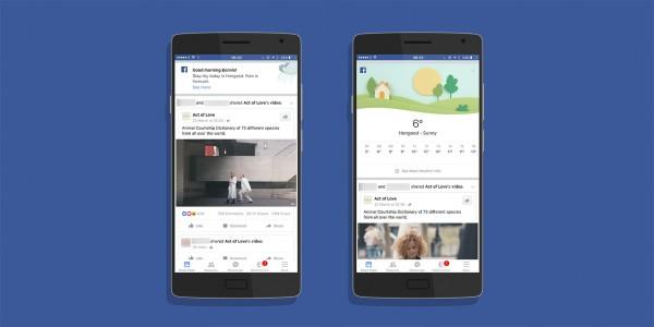 Facebook теперь предоставляет полный прогноз погоды на всю неделю