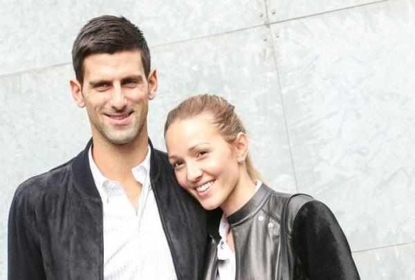 Теннисист из Сербии Новак Джокович  узнал о пополнении в своей семье