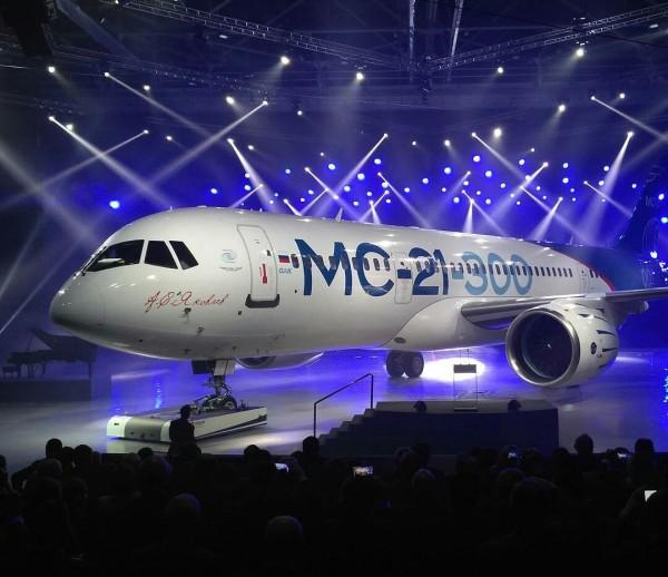 Корпорация «Иркут» собирается зарегистрировать товарный знак авиалайнера МС-21