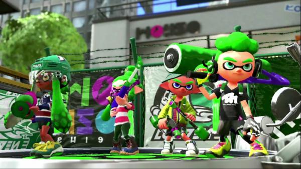 Владельцы приставки Nintendo Switch смогут попробовать игру Splatoon 2