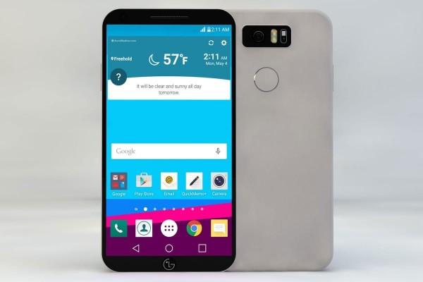 Смартфон LG G6 был представлен на живых фотографиях