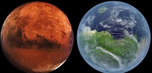 SETI: Люди произошли от марсиан