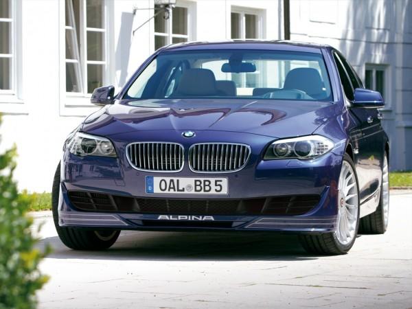 Седан Alpina B5 Bi-Turbo на базе BMW 5-series представлен на видео