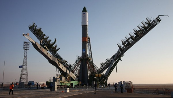 Последняя в истории ракета «Союз-У» установлена на «Гагаринский старт»