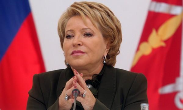 Матвиенко рассказала, что крайне неэтично сейчас говорить о поисках замены Чуркина