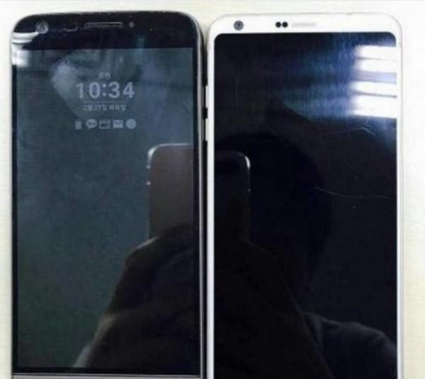 Смартфон LG G6 сравнили с прошлогодним флагманом