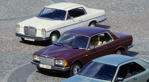 Купе Mercedes E-Class отмечает 40-летний юбилей