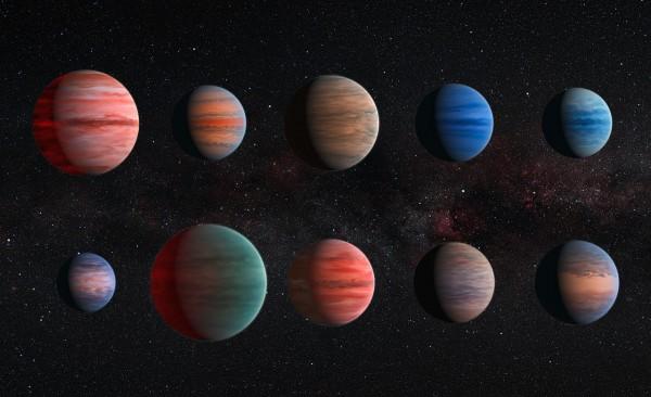 Ученые NASA обнаружили три новые пригодные для жизни планеты