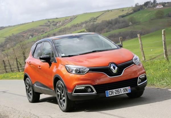 Новый кроссовер Renault Captur представят на Женевском автосалоне
