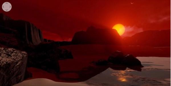 NASA выпустила виртуальный обзор найденной планеты в системе TRAPPIST-1
