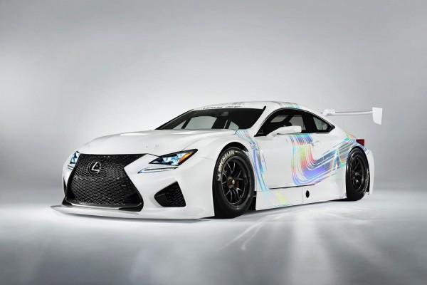В Женеве дебютирует спорткар Lexus RC F GT3